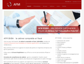 afm-consulting.be screenshot