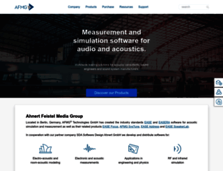 afmg.eu screenshot
