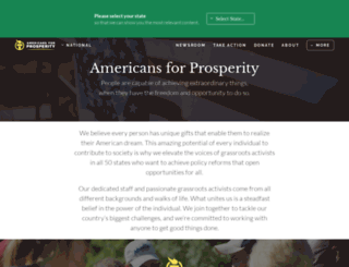 afphq.org screenshot