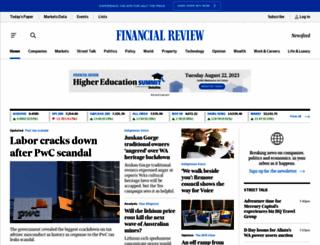 afr.com screenshot
