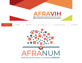 afravih.org screenshot
