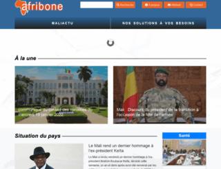 afribonemali.net screenshot