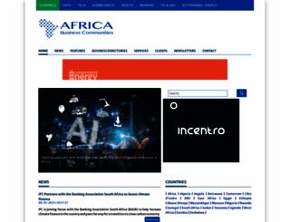 africabusinesscommunities.com screenshot