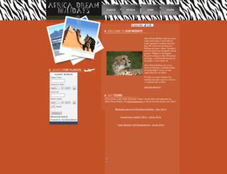 africadreamholidays.com screenshot