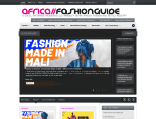 africafashionguide.com screenshot