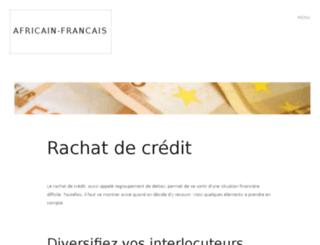 africain-francais.org screenshot