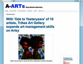africanartswithtaj.blogspot.com screenshot