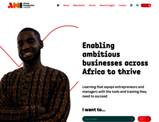 africanmanagers.org screenshot