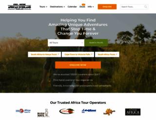 africanoverlandtours.com screenshot