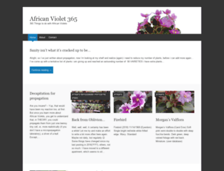 africanviolet365.wordpress.com screenshot