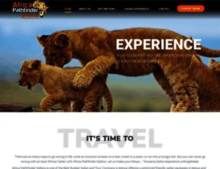 africapathfindersafaris.com screenshot