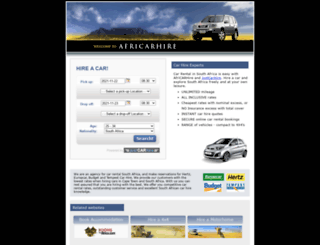 africarhire.com screenshot
