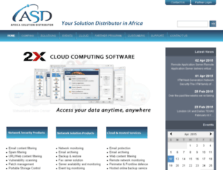 africasd.com screenshot