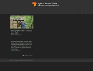 africatraveltime.wordpress.com screenshot