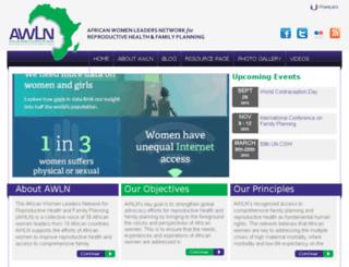 africawln.org screenshot