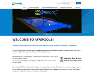 afripools.com screenshot