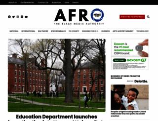 afro.com screenshot