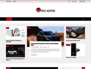 afroautos.com screenshot