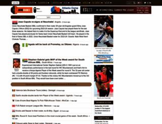 afrobasket.com screenshot