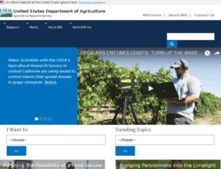 afrsweb.usda.gov screenshot