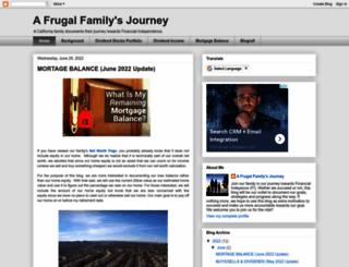 afrugalfamilysjourney.blogspot.ca screenshot