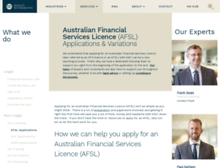 afsl.com.au screenshot