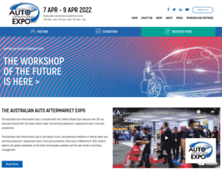 aftermarketexpo.com.au screenshot
