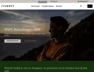 afterpay.nl screenshot