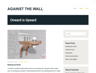 againstthewallgame.com screenshot