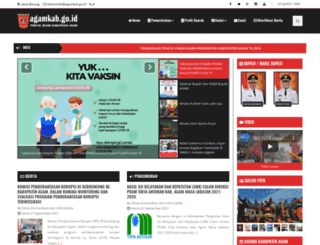 agamkab.go.id screenshot