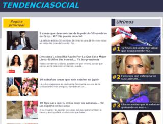 agarcia.tendenciasocial.com screenshot