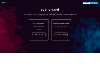 agariom.net screenshot