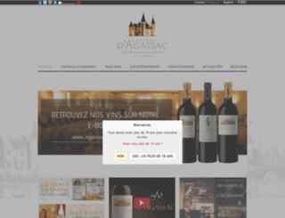 agassac.com screenshot