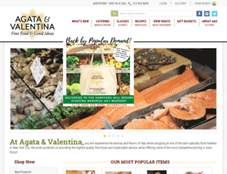 agatavalentina.com screenshot