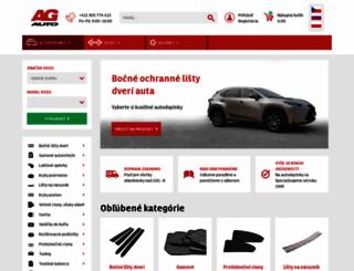 agauto.sk screenshot