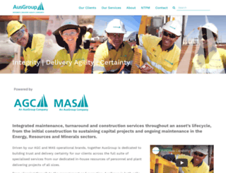 agc-ausgroup.com screenshot