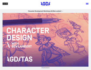 agda.com.au screenshot