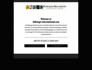 agecheck.bitburger-international.com screenshot