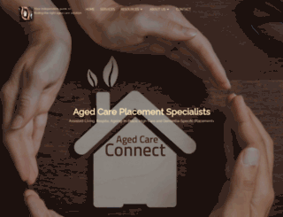 agedcareconnect.com.au screenshot