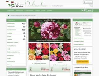agel-rosen.de screenshot