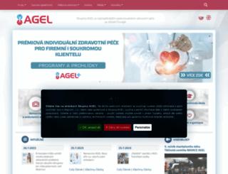 agel.cz screenshot