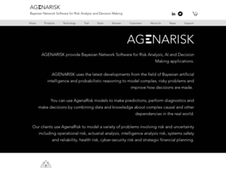 agena.co.uk screenshot