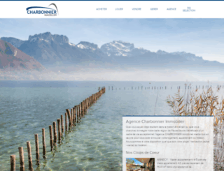 agence-charbonnier.com screenshot