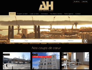 agence-henry.com screenshot