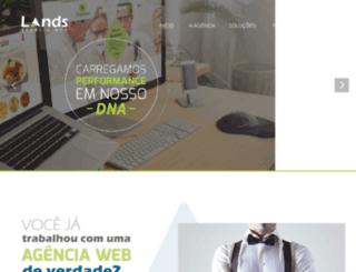 agencia.landsdigital.com.br screenshot