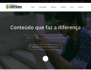 agenciaconteudo.net.br screenshot