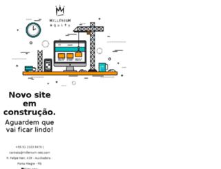 agenciamillenium.com screenshot