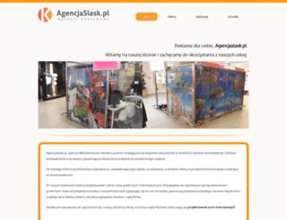 agencjaslask.pl screenshot