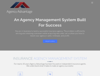 agencyadvantage.com screenshot