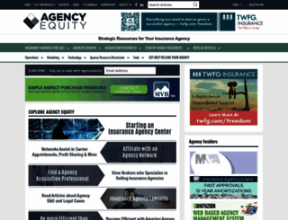 agencyequity.com screenshot